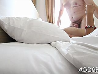 Sexual japanese brunette perfection banging