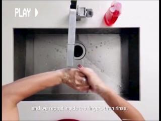 le enseñaré cómo lavarse las manos ft. Esperanza