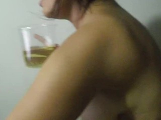 webcam, Piss, horney girl, hot cam, skype session NatSin piss dinking