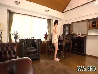 Sensual girlie Wakaba Onoue banged roughly