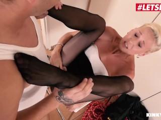 KinkyInlaws - Blonde Czech MILF Seduced Into Hot Sex By Her Step Son - LETSDOEIT